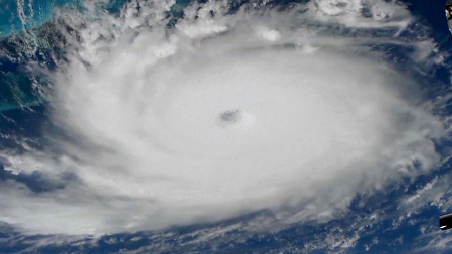 Ураган «Дориан» сняли из космоса камеры, расположенные на борту Международной космической станции (МКС)