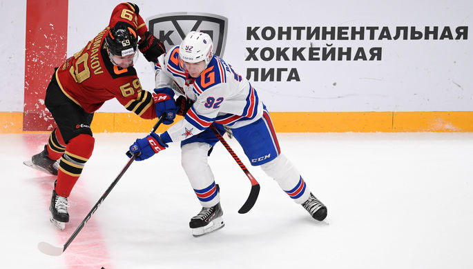 эпизод матча СКА- «Авангард»