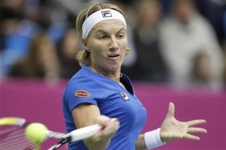 Светлана Кузнецова вышла во второй круг турнира в Дохе