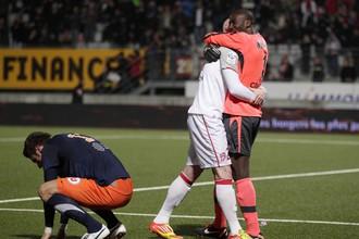 Футболисты «Нанси» переиграли «Монпелье» в 28-м туре чемпионата Франции