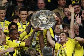 Клуб из Дортмунда второй год подряд становится чемпионом Германии