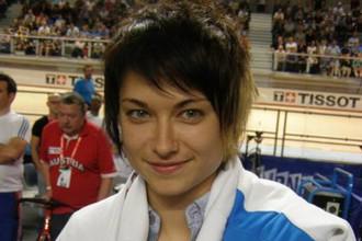 Вице-чемпионка мира 2012 года по велотреку Екатерина Гниденко