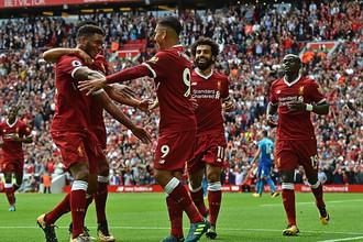 «Ливерпуль» обыграл «Арсенал» в АПЛ