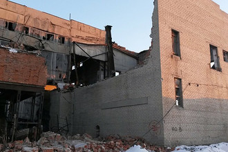 Обрушение крыши котельной в Копейске Челябинской области, 12 января 2018 года