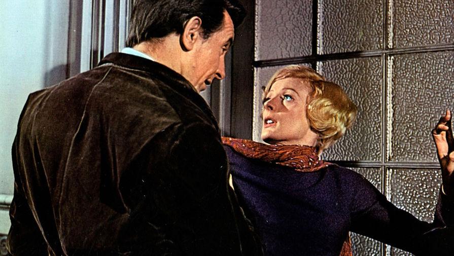 Мэгги Смит и Роберт Стивенс в сцене из фильма «Расцвет мисс Джин Броди» (1969)