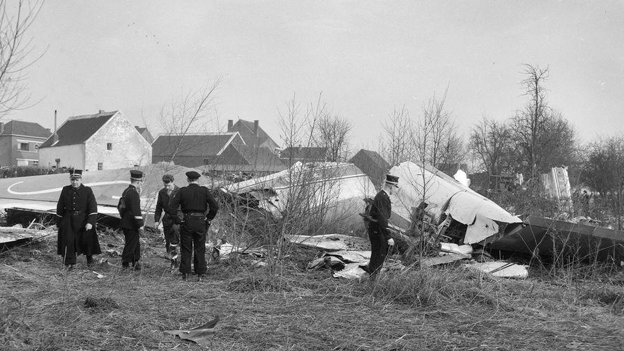Катастрофа Boeing 707 под Брюсселем
