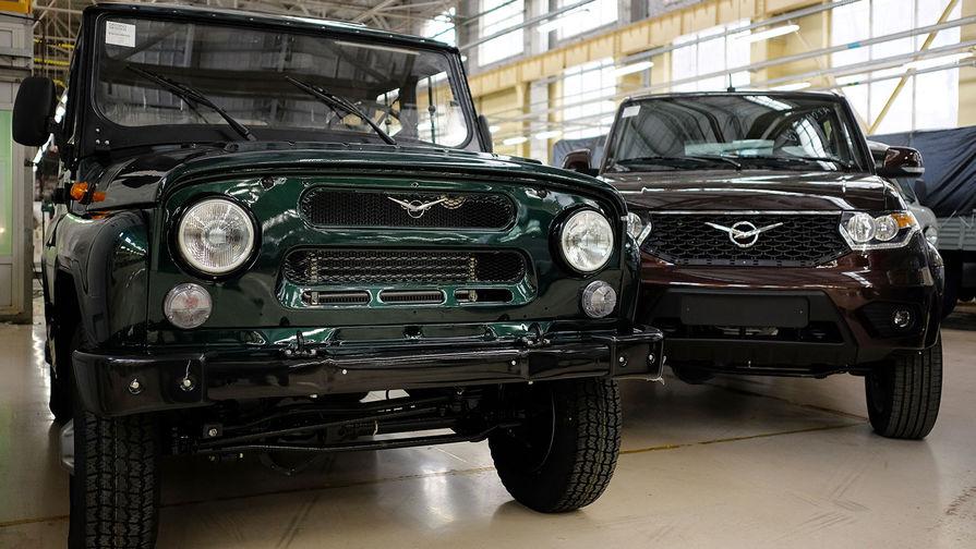 Продукция Ульяновского Автомобильного Завода («УАЗ»): УАЗ Хантер и УАЗ Патриот