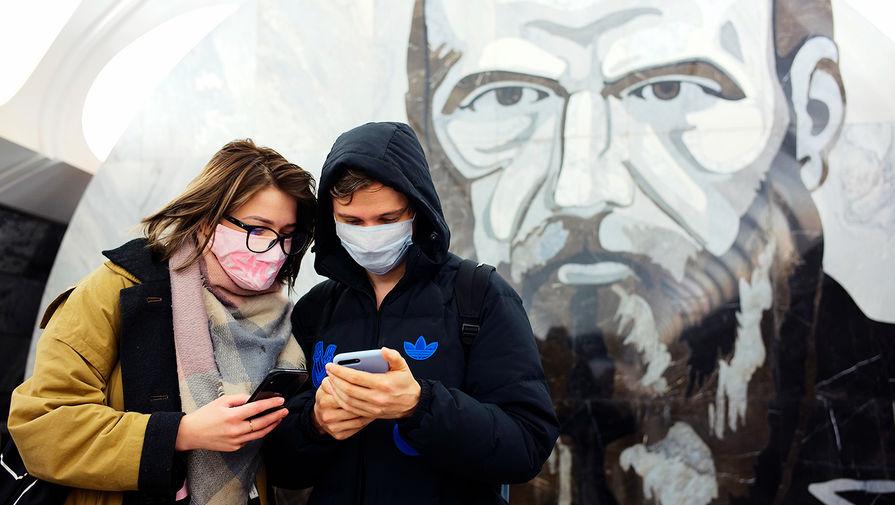 На транспорте Москвы выявили 1,5 тысячи нарушений масочного режима за сутки
