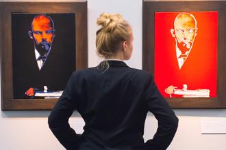 «Черный Ленин» и «Красный Ленин» Энди Уорхола