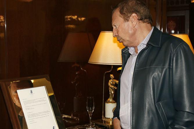 Гендиректор портала «Спорт-Экспресс» Иван Рубин во время мероприятия в Москве, октябрь 2011 года