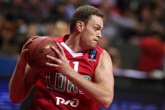 Игрок БК «Локомотив-Кубань» Брайан Квали