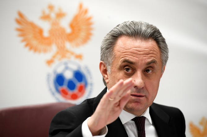 Вице-премьер России по вопросам спорта Виталий Мутко