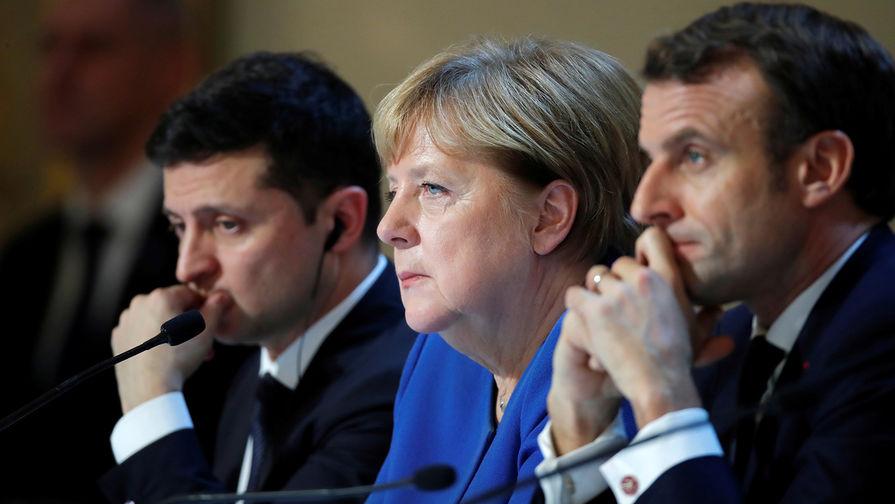 Политолог РѕР±СЉСЏСЃРЅРёР», почему слова Зеленского РѕР·Р°С‰РёС'Рµ Запада оскорбили Макрона Рё Меркель