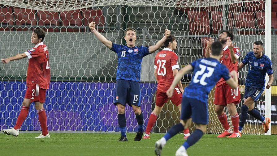Эпизод матча Словакия- Россия