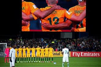 Перед матчем Австралия — Саудовская Аравия