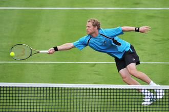 Дмитрий Турсунов вылетел в первом круге теннисного олимпийского турнира