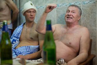 Михаил Дегтярев и Владимир Жириновский