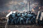«Беркут» наплощади Независимости вКиеве