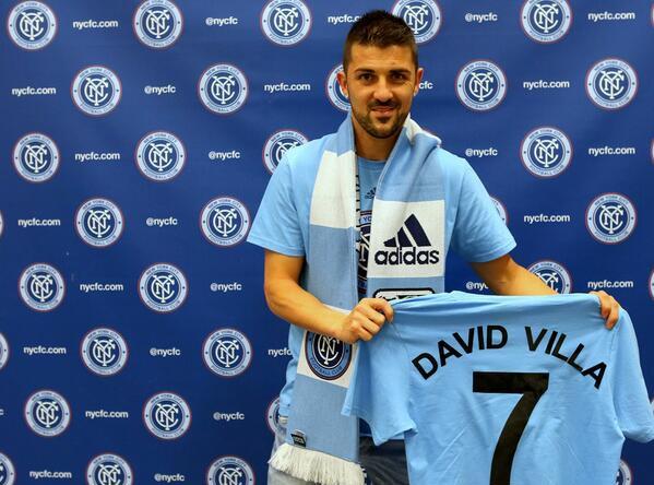 Легенда испанского футбола Давид Вилья объявил о завершении карьеры