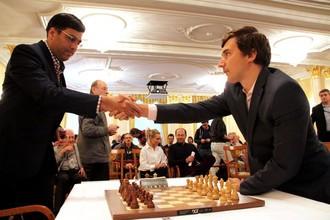 Вишванатан Ананд и Сергей Карякин.