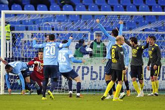«Анжи» потерпел первое в восьми матчах поражение