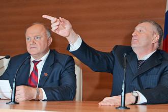КПРФ и ЛДПР затевают расследование