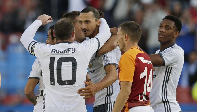 Ибрагимович забил в своем первом матче за МЮ