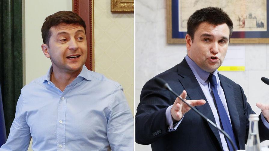 Зеленского обвинили в сведении счетов с Климкиным