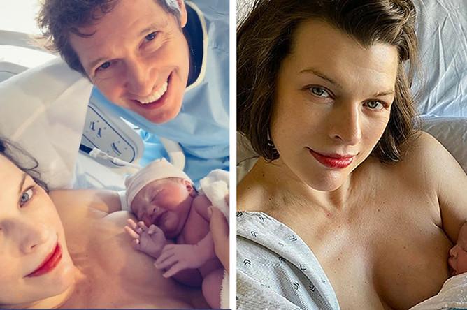 3 февраля актриса Милла Йовович рассказала подписчикам Instagram, что родила малышку по имени Ошин Ларк Эллиот Йовович-Андерсон. Для 44-летней звезды «Пятого элемента» и ее мужа, 54-летнего Пола Андерсона, это уже третий ребенок – пара воспитывает 11-летнюю Эвер и 4-летнего Дэшиэла
