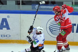 Хоккеисты «Спартака» не могут найти объяснения поражению от «Северстали»