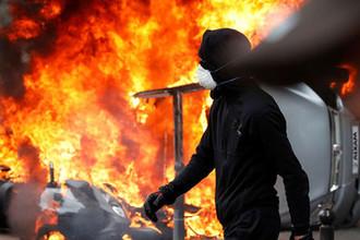 Беспорядки в Париже, 1 мая 2018 года