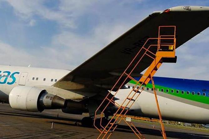 Последствия столкновения самолетов в аэропорту «Жуковский», 7 октября 2018 года