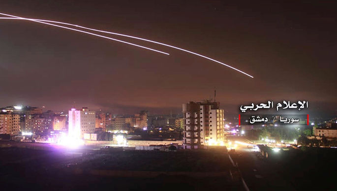 Цель — Иран: Израиль ударил по Сирии