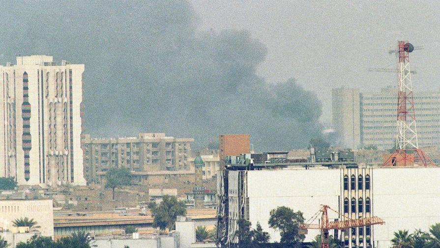 Бомбардировка Багдада, 18 января 1991 года