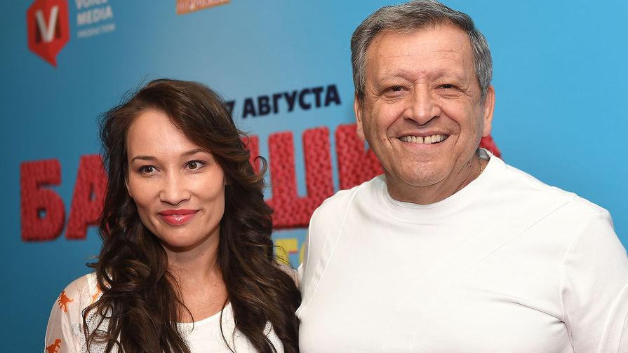 Екатерина Белоцерковская и Борис Грачевский, 2017 год