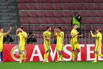 «Ростов» впервые в истории вышел в 1/8 финала Лиги Европы и сыграет там с «Манчестер Юнайтед»