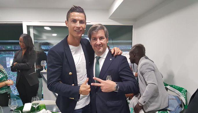 Президент лиссабонского «Спортинга» Бруну де Карвалью
