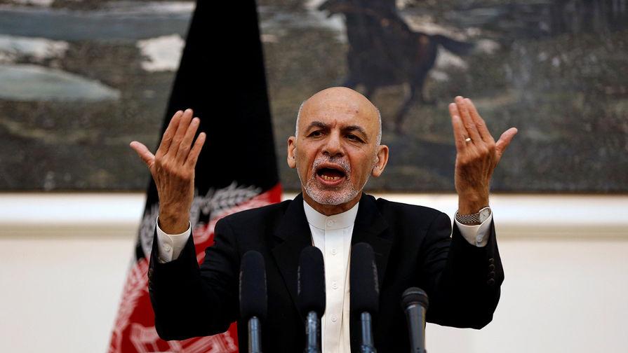 Президент Афганистана Мухаммад Ашраф Гани