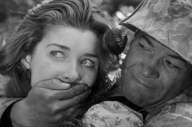 Кадр из фильма «Страх и вожделение» (1952)