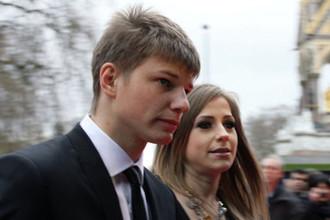 Андрей Аршавин с бывшей женой Юлией Барановской. У пары трое детей