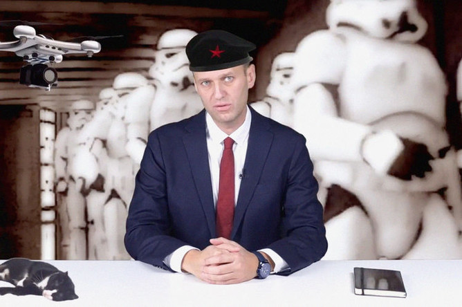Алексей Навальный в видеообращении к главе Росгвардии Виктору Золотову, 18 октября 2018 года