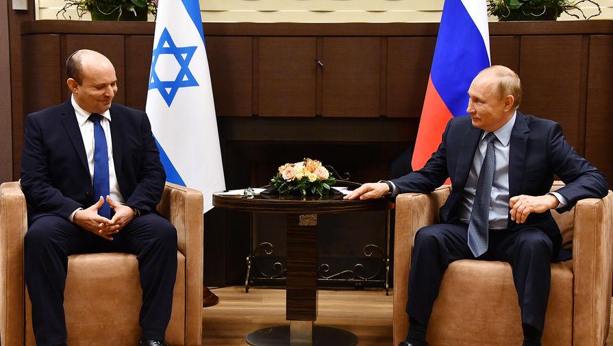 Стали известны подробности встречи Путина и Беннета