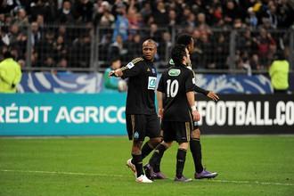 Джордан Айю забил первый гол своей команды в матче с «Ред Стар»