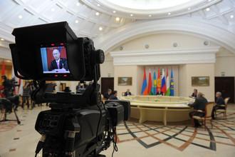 Заседание Совета коллективной безопасности ОДКБ в санатории «Русь»