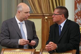 Министр финансов РФ Антон Силуанов и министр экономического развития РФ Алексей Улюкаев