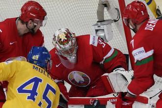 Сборная Белоруссии на домашнем чемпионате мира в Минске