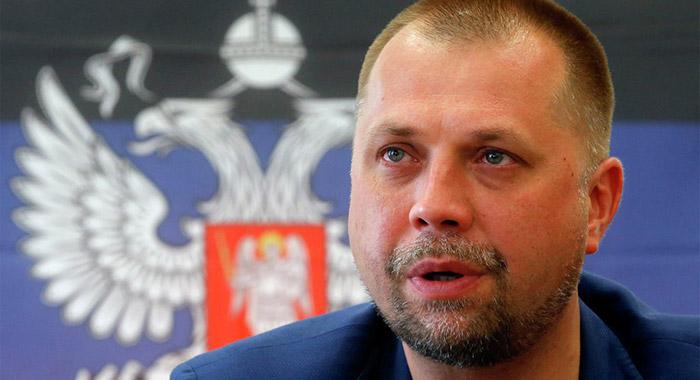 Бывший глава самопровозглашенной Донецкой республики Александр Бородай