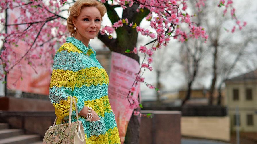 Актриса Марина Зудина на открытии фестиваля «Черешневый лес» во Дворце на Яузе