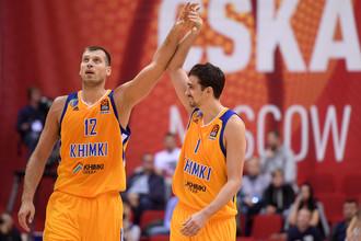 Сергей Моня (слева) и Алексей Швед