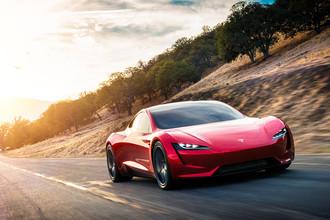 Презентация Tesla Roadster 2 в Калифорнии, 16 ноября 2017 года